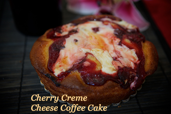 Cherry Creme Cheese Coffee Cake